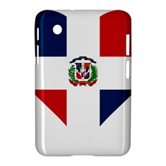 Heart Love Dominican Republic Samsung Galaxy Tab 2 (7 ) P3100 Hardshell Case
