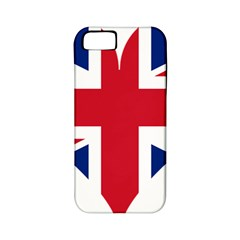 Heart Love Heart Shaped Flag Apple Iphone 5 Classic Hardshell Case (pc+silicone)