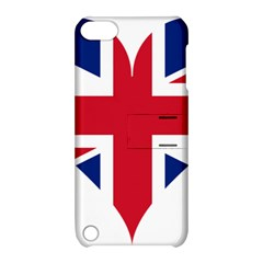 Heart Love Heart Shaped Flag Apple Ipod Touch 5 Hardshell Case With Stand
