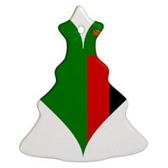 Heart Love Heart Shaped Zambia Ornament (christmas Tree)