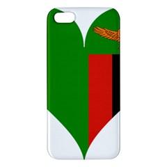 Heart Love Heart Shaped Zambia Iphone 5s/ Se Premium Hardshell Case