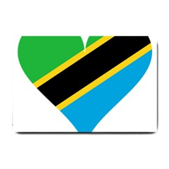 Heart Love Tanzania East Africa Small Doormat