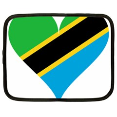 Heart Love Tanzania East Africa Netbook Case (large)