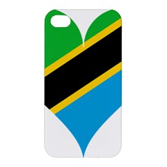 Heart Love Tanzania East Africa Apple Iphone 4/4s Hardshell Case