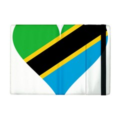Heart Love Tanzania East Africa Apple Ipad Mini Flip Case