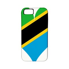 Heart Love Tanzania East Africa Apple Iphone 5 Classic Hardshell Case (pc+silicone)