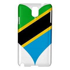 Heart Love Tanzania East Africa Samsung Galaxy Note 3 N9005 Hardshell Case
