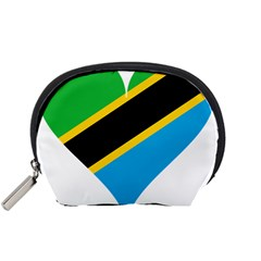 Heart Love Tanzania East Africa Accessory Pouches (small)