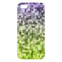 Irregular Rectangle Square Mosaic Apple Iphone 5 Premium Hardshell Case