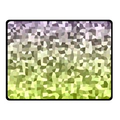 Irregular Rectangle Square Mosaic Double Sided Fleece Blanket (small)