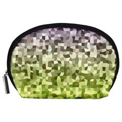 Irregular Rectangle Square Mosaic Accessory Pouches (large)