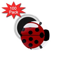 Ladybug Insects Colors Alegre 1 75  Magnets (100 Pack)