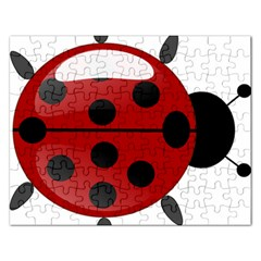 Ladybug Insects Colors Alegre Rectangular Jigsaw Puzzl