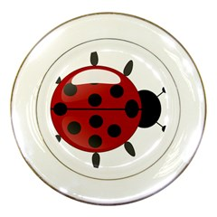 Ladybug Insects Colors Alegre Porcelain Plates