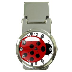 Ladybug Insects Colors Alegre Money Clip Watches
