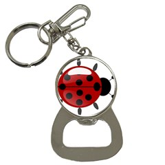 Ladybug Insects Colors Alegre Button Necklaces