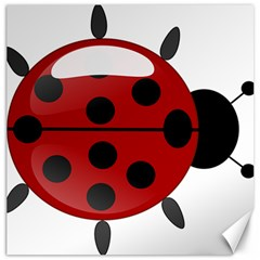 Ladybug Insects Colors Alegre Canvas 16  X 16