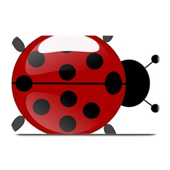Ladybug Insects Colors Alegre Plate Mats