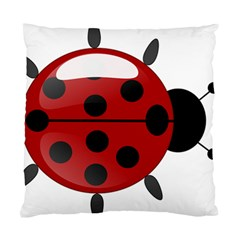 Ladybug Insects Colors Alegre Standard Cushion Case (one Side)