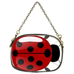 Ladybug Insects Colors Alegre Chain Purses (two Sides)