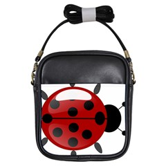 Ladybug Insects Colors Alegre Girls Sling Bags