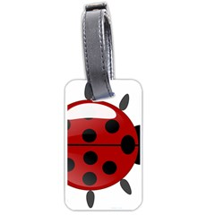 Ladybug Insects Colors Alegre Luggage Tags (one Side)