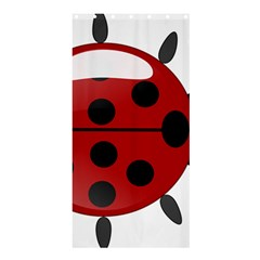 Ladybug Insects Colors Alegre Shower Curtain 36  X 72  (stall)