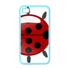 Ladybug Insects Colors Alegre Apple Iphone 4 Case (color)