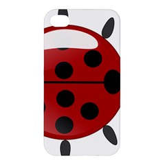 Ladybug Insects Colors Alegre Apple Iphone 4/4s Premium Hardshell Case