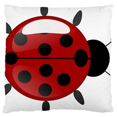 Ladybug Insects Colors Alegre Large Cushion Case (two Sides)