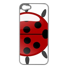 Ladybug Insects Colors Alegre Apple Iphone 5 Case (silver)
