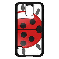 Ladybug Insects Colors Alegre Samsung Galaxy S5 Case (black)