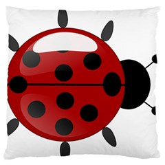 Ladybug Insects Colors Alegre Standard Flano Cushion Case (two Sides)