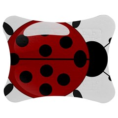 Ladybug Insects Colors Alegre Jigsaw Puzzle Photo Stand (bow)