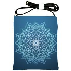 Mandala Floral Ornament Pattern Shoulder Sling Bags