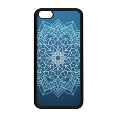 Mandala Floral Ornament Pattern Apple Iphone 5c Seamless Case (black)