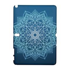 Mandala Floral Ornament Pattern Galaxy Note 1