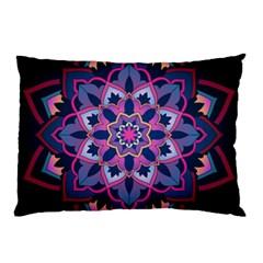 Mandala Circular Pattern Pillow Case (two Sides)