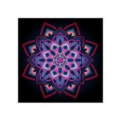 Mandala Circular Pattern Acrylic Tangram Puzzle (4  X 4 )