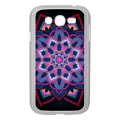 Mandala Circular Pattern Samsung Galaxy Grand Duos I9082 Case (white)
