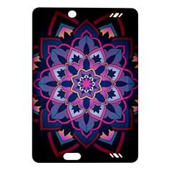 Mandala Circular Pattern Amazon Kindle Fire Hd (2013) Hardshell Case