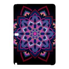 Mandala Circular Pattern Samsung Galaxy Tab Pro 12 2 Hardshell Case