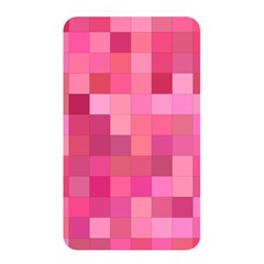 Pink Square Background Color Mosaic Memory Card Reader