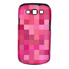 Pink Square Background Color Mosaic Samsung Galaxy S Iii Classic Hardshell Case (pc+silicone)