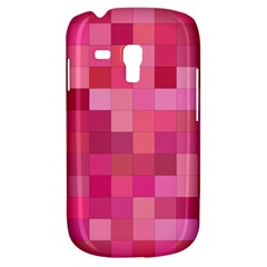 Pink Square Background Color Mosaic Galaxy S3 Mini