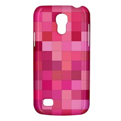 Pink Square Background Color Mosaic Galaxy S4 Mini