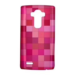 Pink Square Background Color Mosaic Lg G4 Hardshell Case