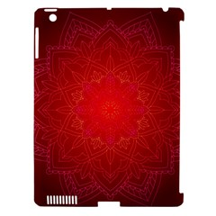 Mandala Ornament Floral Pattern Apple Ipad 3/4 Hardshell Case (compatible With Smart Cover)