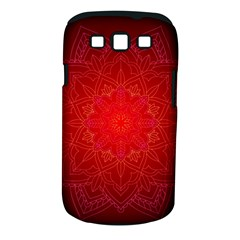 Mandala Ornament Floral Pattern Samsung Galaxy S Iii Classic Hardshell Case (pc+silicone)