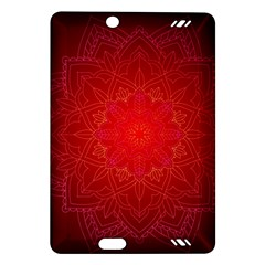 Mandala Ornament Floral Pattern Amazon Kindle Fire Hd (2013) Hardshell Case